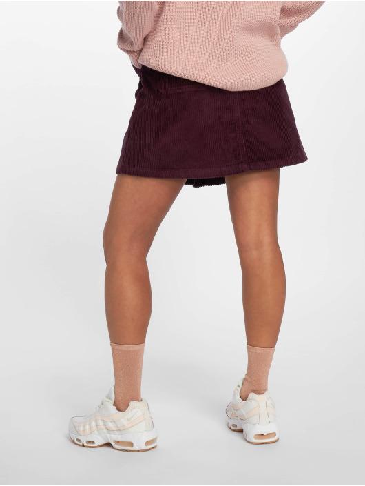 Vero Moda Sukňe vmClea A-Shape Corduroy èervená