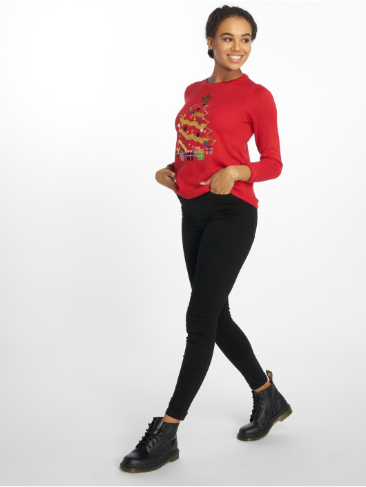 Vero Moda Sweat & Pull vmChristmas Tree rouge