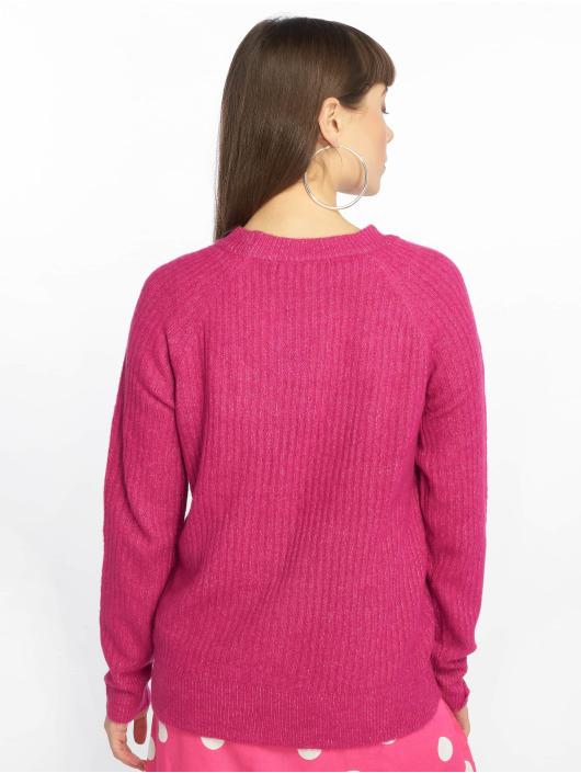 Vero Moda Swetry vmLotus pink