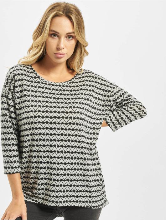 Vero Moda T-Shirt manches longues vmMalena 3/4 gris