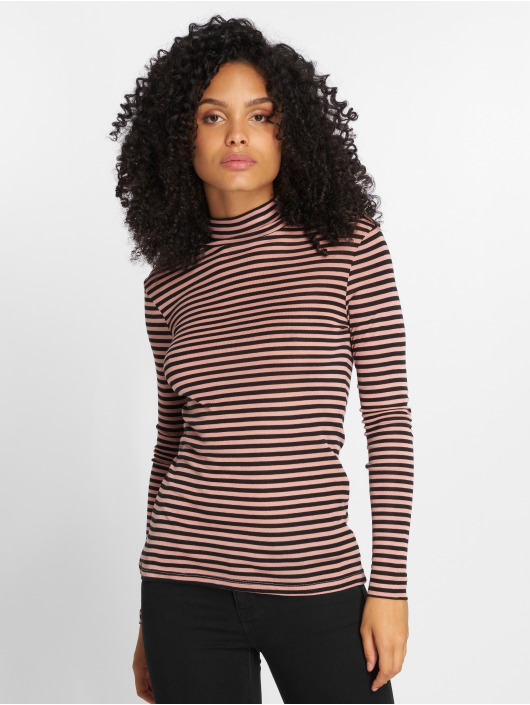 Vero Moda T-Shirt manches longues vmVita rose