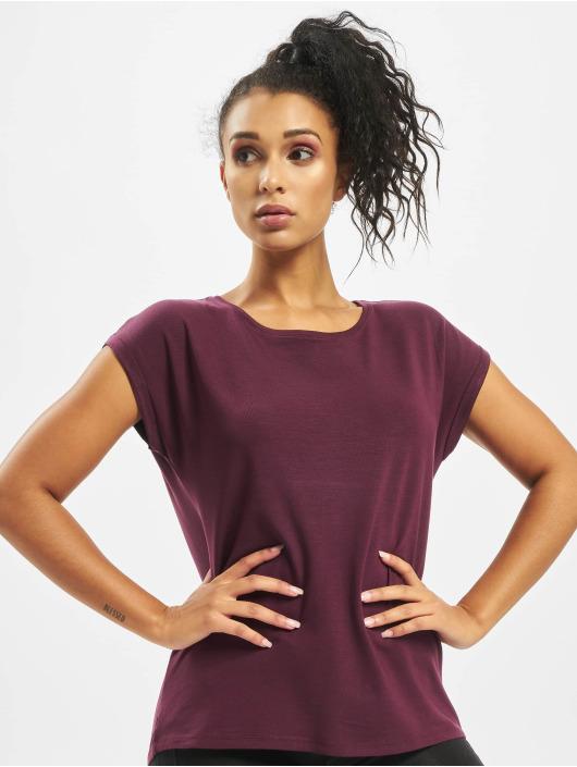 Vero Moda T-Shirt vmAware Plain rot