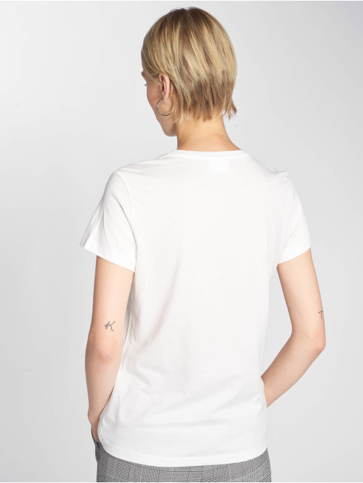 Vero Moda T-Shirty vmEdin bialy