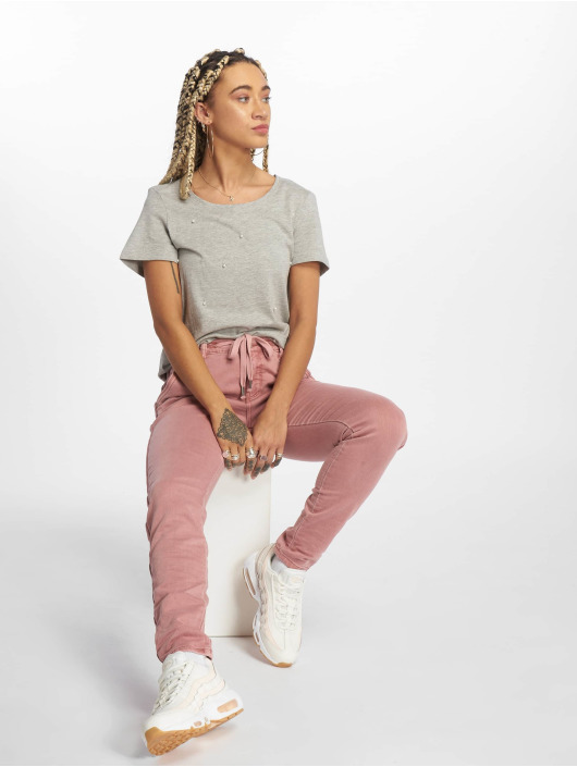 Vero Moda Tričká vmAdelie šedá