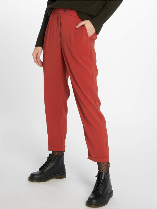 Vero Moda Tygbyxor vmYvonne Grace röd