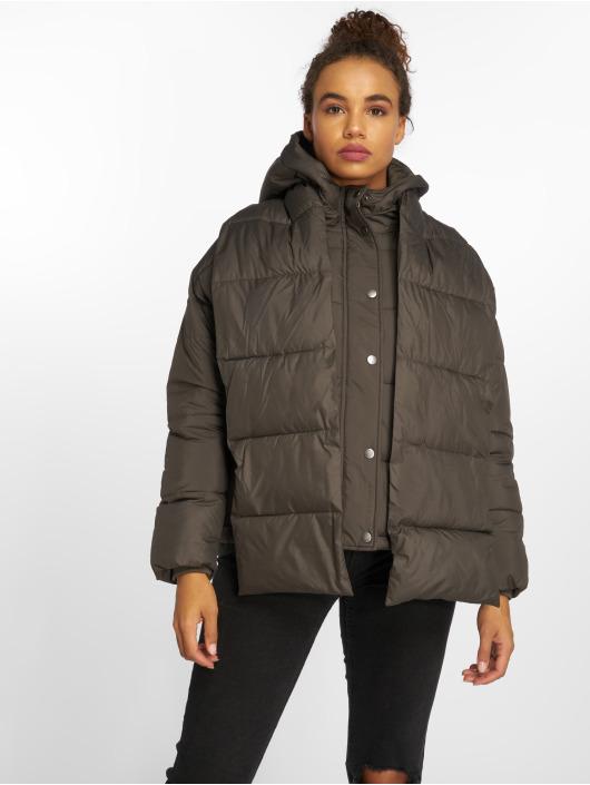 Vero Moda Vattert jakker vmScarf grå