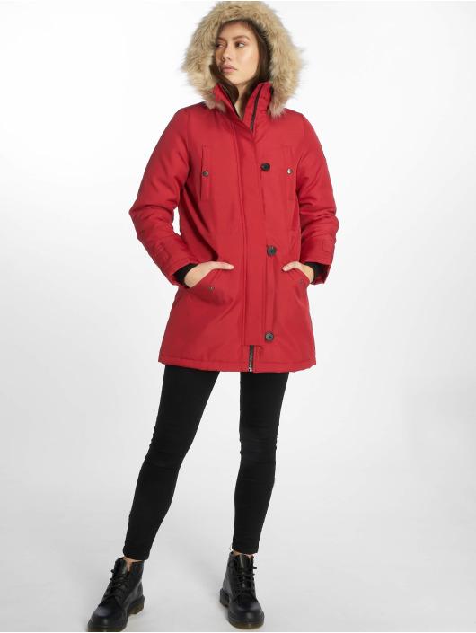 Vero Moda Winter Jacket vmExcursion Expedition 3/4 red