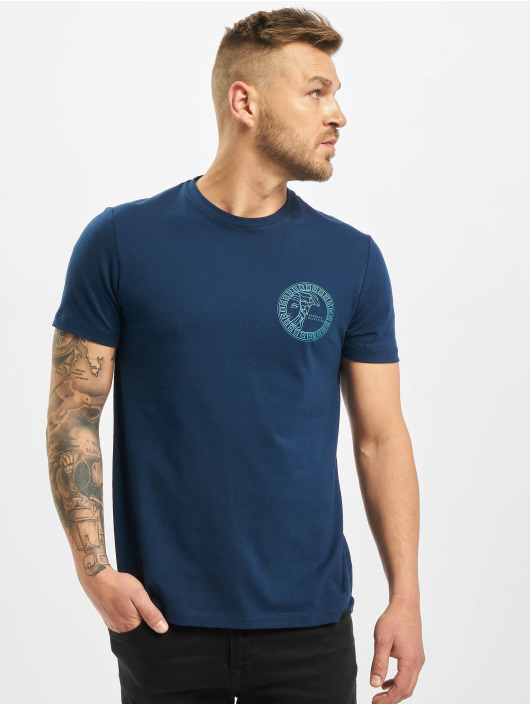 Versace Collection T-Shirt Collection bleu
