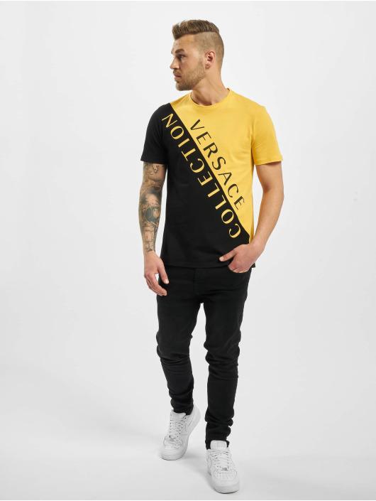 Versace Collection T-shirt Collection giallo