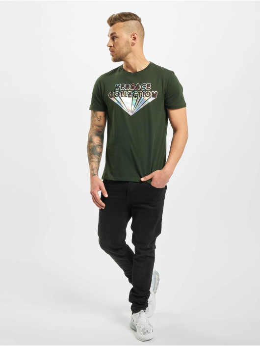 Versace Collection T-shirt Collection verde