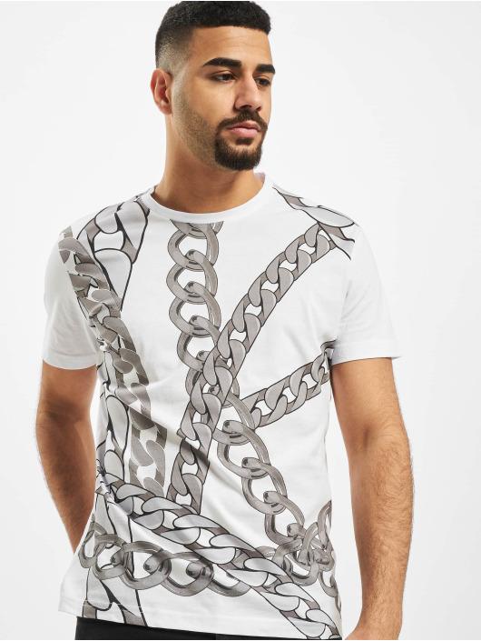 Versace Jeans T-shirts Chain hvid