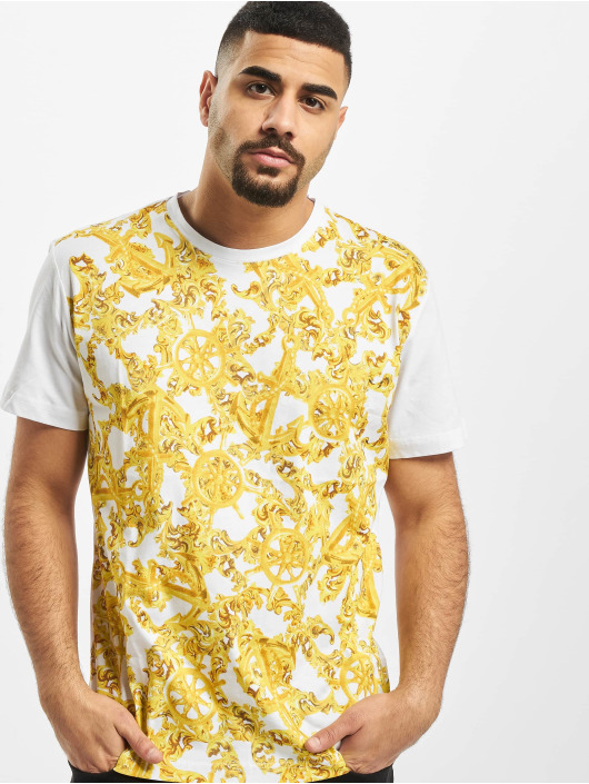 Versace Jeans T-Shirty Barock bialy