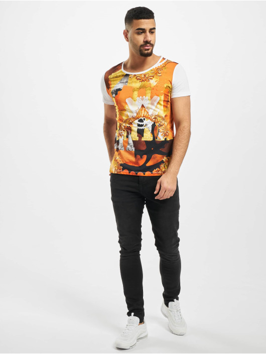 Versace Jeans T-skjorter Columns hvit