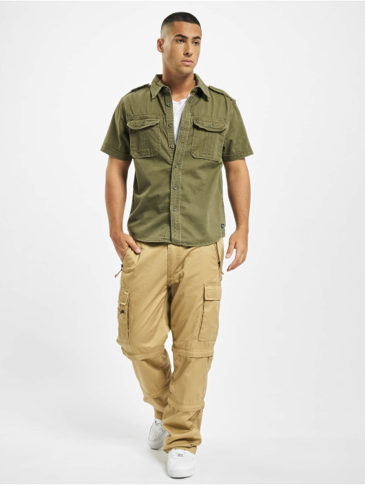 Vintage Industries Cargo pants Savannah brown