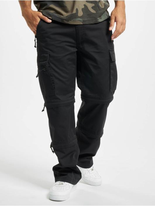 Vintage Industries Pantalon cargo Savannah noir