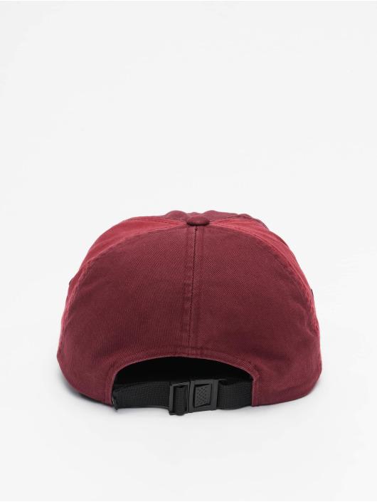 Volcom 5 Panel Caps Hat czerwony
