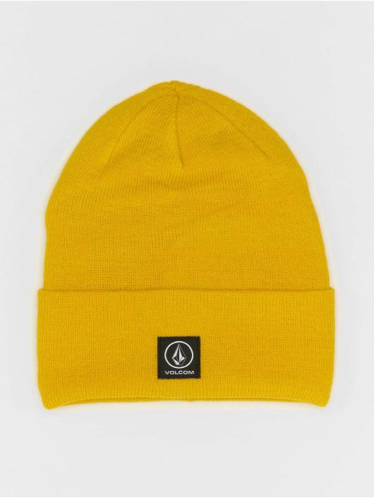 Volcom Beanie Box Stone amarillo