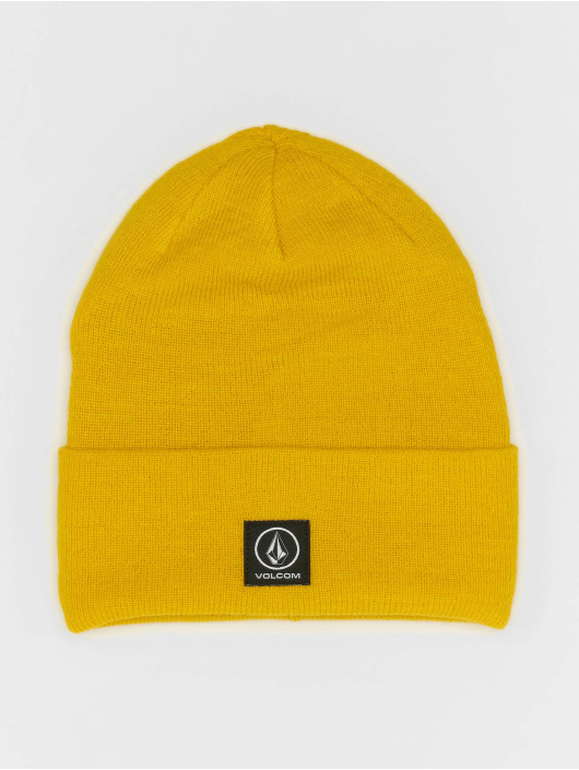 Volcom Beanie Box Stone giallo