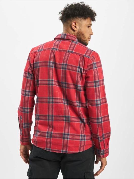 Volcom Camisa Caden Plaid rojo