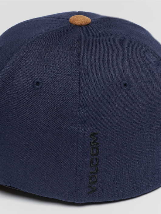 Volcom Casquette Flex Fitted Full Stone Hthr Xfit Flexfitted bleu
