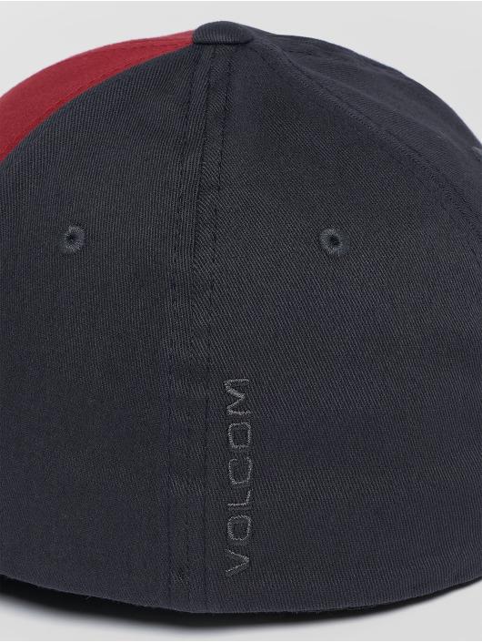 Volcom Casquette Flex Fitted Full Stone Xfit rouge