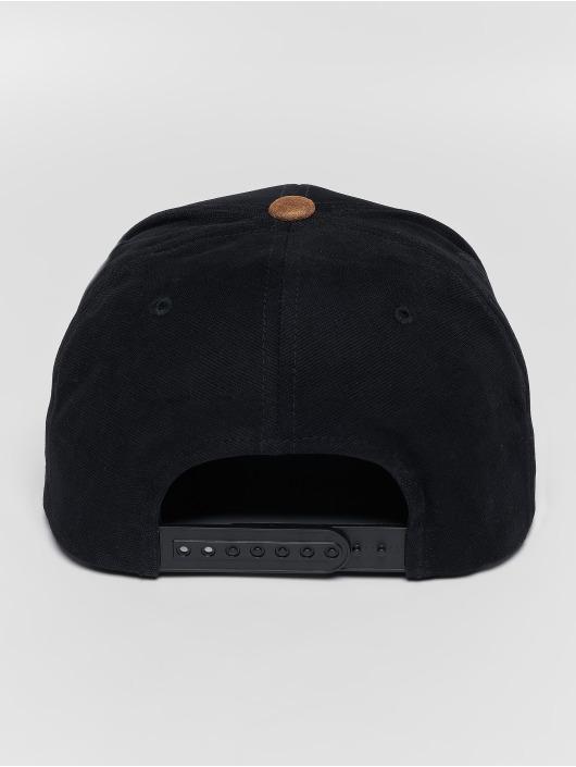 Volcom Casquette Snapback & Strapback Quarter Fabric noir
