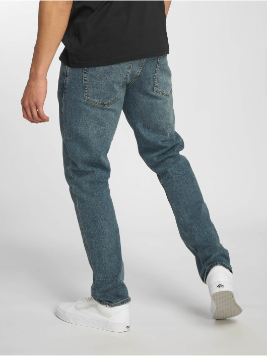 Volcom Dżinsy straight fit Vorta Denim niebieski