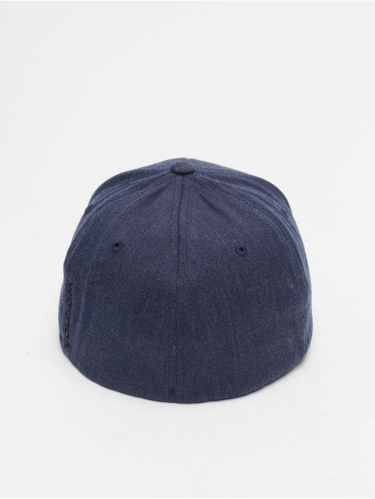 Volcom Flexfitted Cap Full Stone Xfit blue