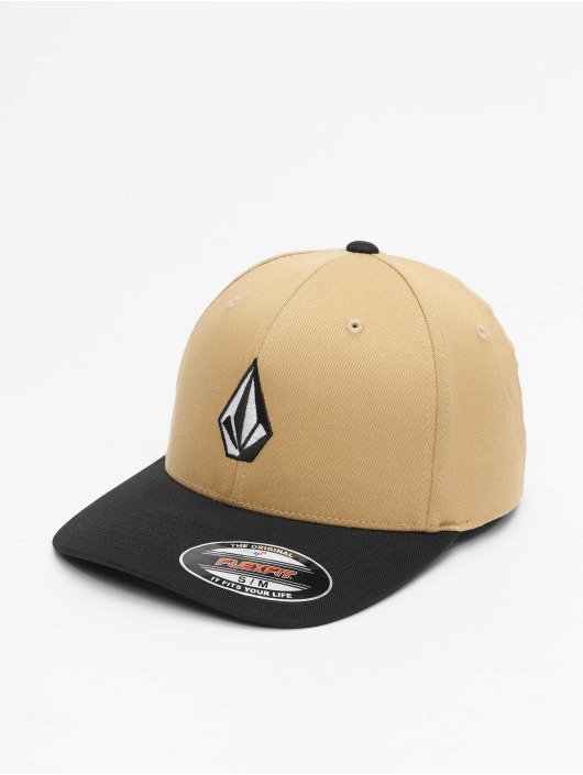 Volcom Flexfitted Cap Full Stone Xfit khaki