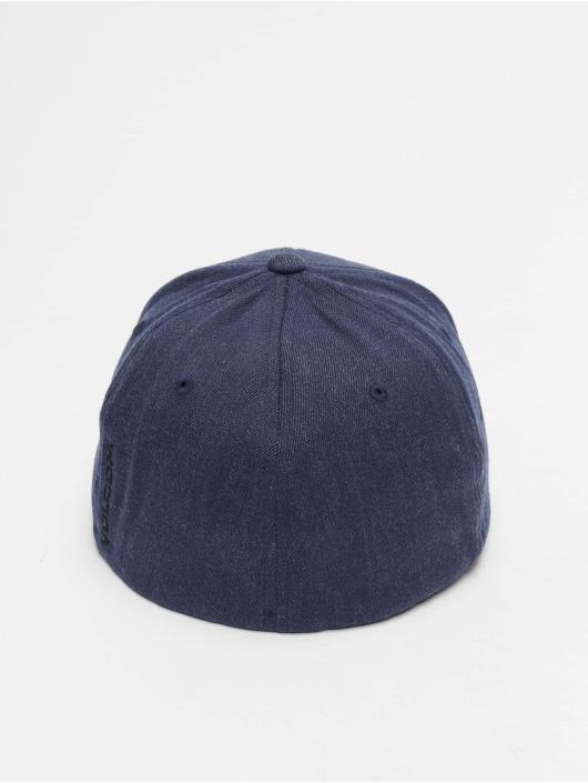 Volcom Flexfitted Cap Full Stone Xfit niebieski