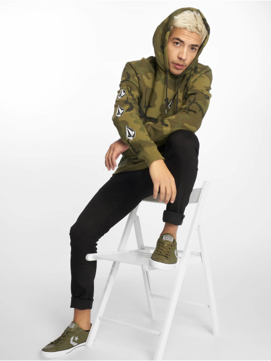 Volcom Hoodie Deadly Stone camouflage