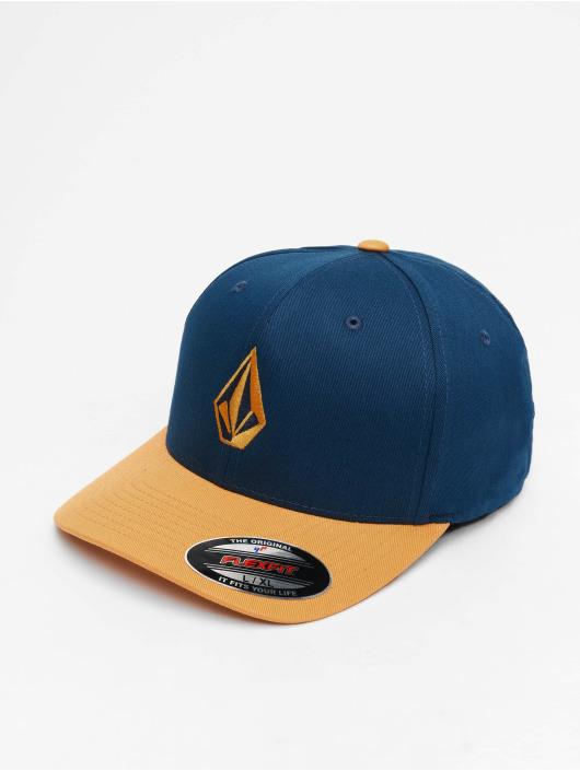 Volcom Lastebilsjåfør- / flexfitted caps Full Stone Xfit blå