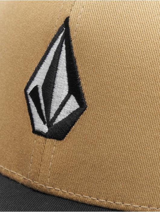Volcom Lastebilsjåfør- / flexfitted caps Full Stone Xfit khaki