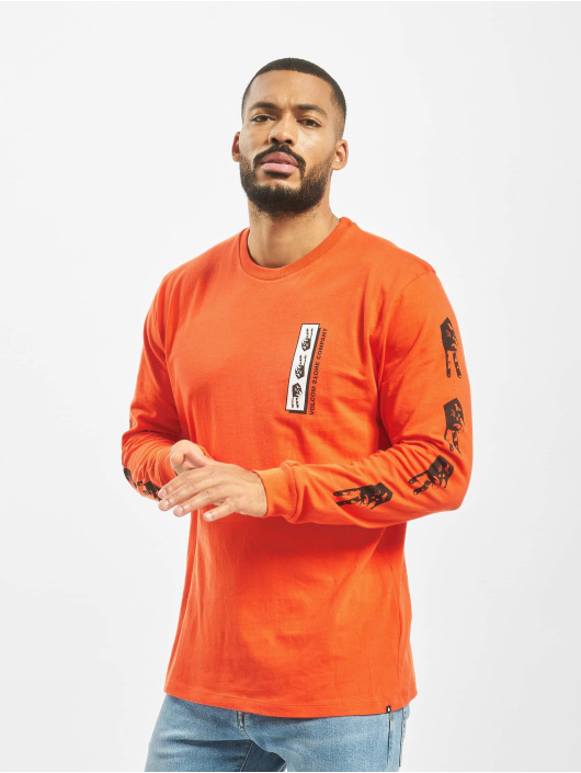Volcom Longsleeve Peace Grid Bxy orange