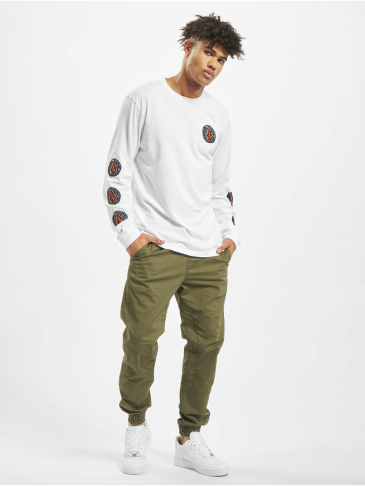 Volcom Longsleeves Family Stone Bsc bialy