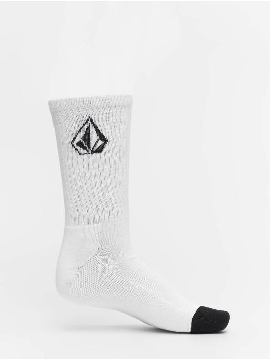 Volcom Ponožky Full Stone 3 biela