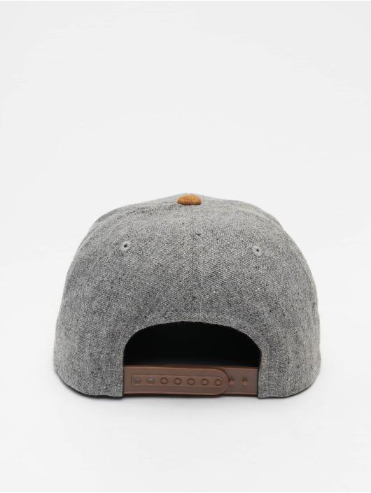 Volcom Snapback Cap Quarter Fabric grau
