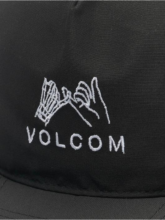 Volcom Snapback Cap Stone Mixer schwarz