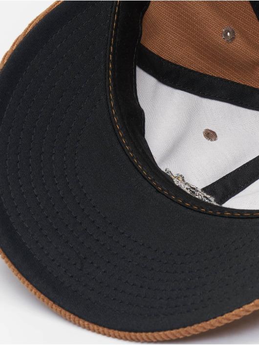 Volcom Snapback Caps Sunny Stone brun