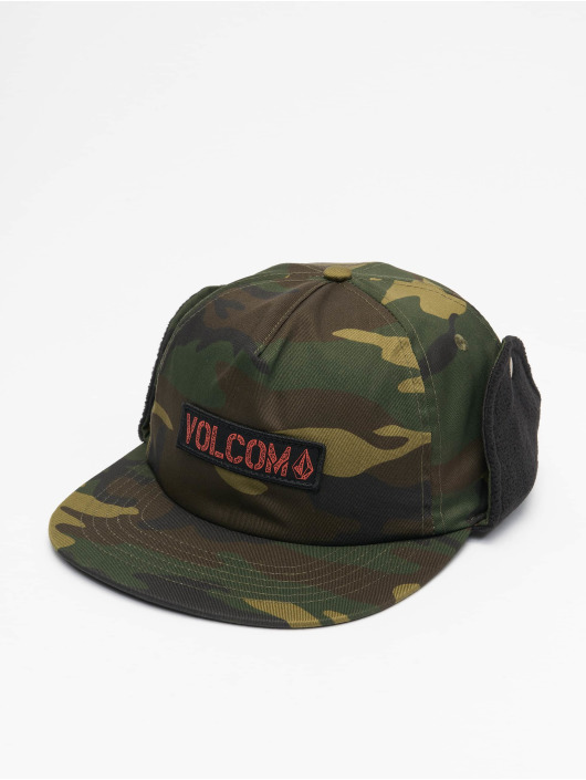 Volcom Snapback Caps Stone camouflage