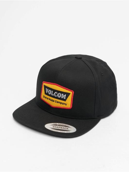 Volcom Snapback Caps Cresticle czarny