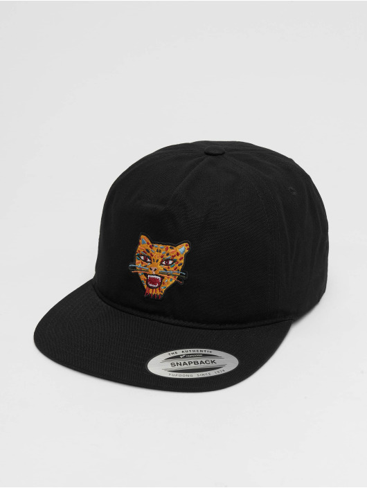 Volcom Snapback Caps Ozzie Tiger czarny