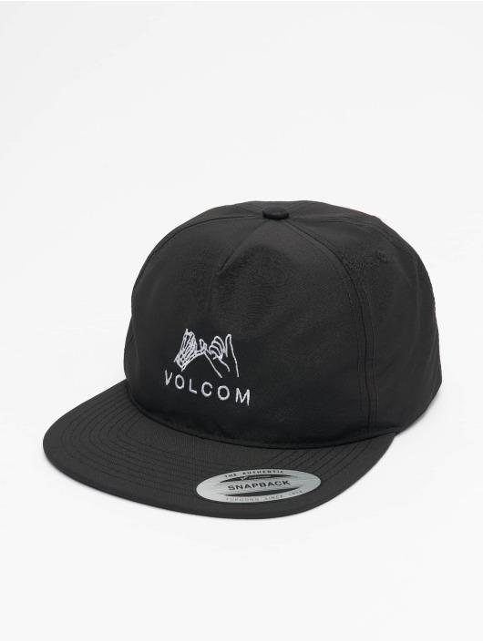 Volcom Snapback Caps Stone Mixer svart