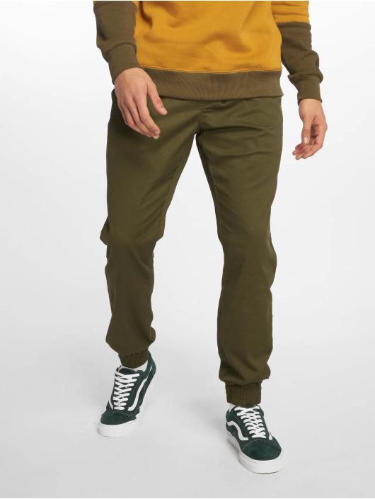 Volcom Spodnie do joggingu Frickn Modern Tap zielony