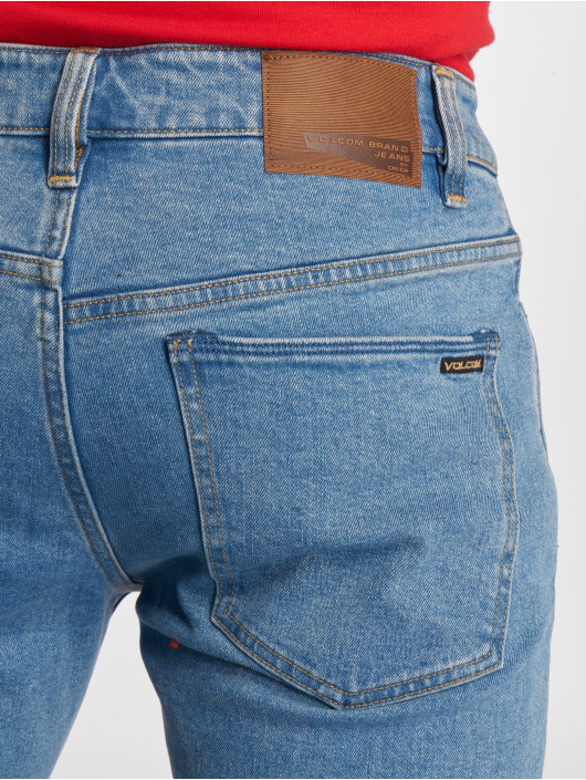 Volcom Straight Fit Jeans Solver Denim blue