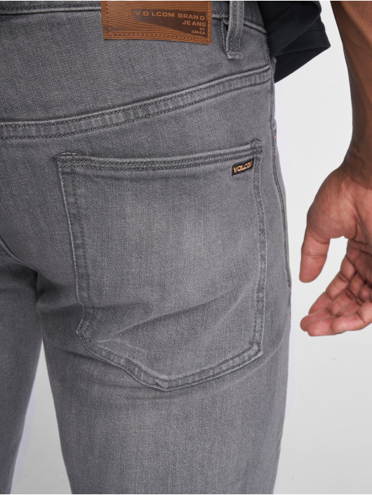 Volcom Straight Fit Jeans 2x4 Denim grey