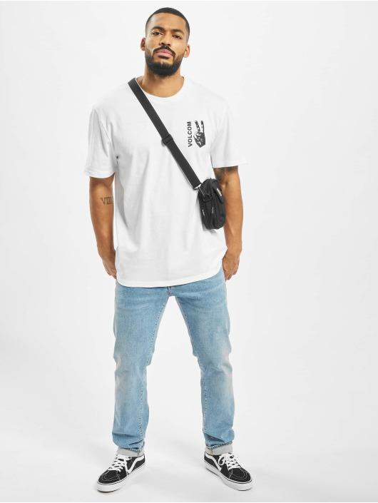 Volcom T-shirt Peace Grid Bxy bianco