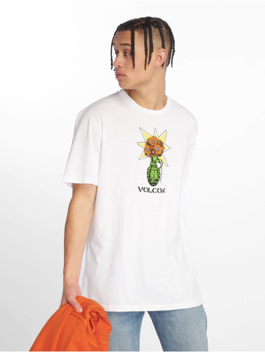 Volcom T-Shirt Grenade blanc