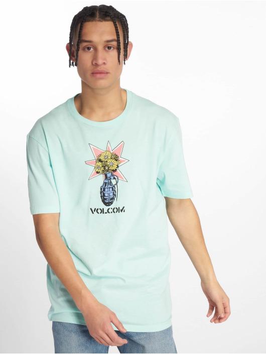 Volcom T-Shirt Grenade blau