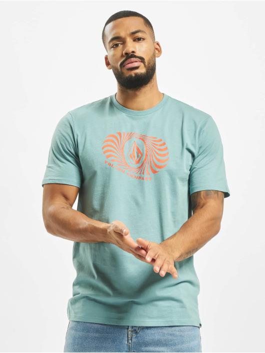 Volcom T-Shirt Digit Fty blau